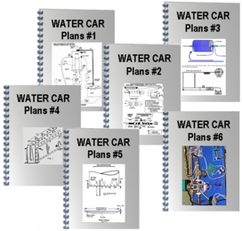 Blueprints for 100% Water Cars--CLICK HERE FOR SAMPLES
